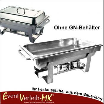Chafing Dish Set ohne GN-