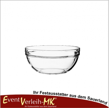 Glasschale 23cm - EMPILABLE GLAS TRANSPARENT