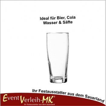 Bierglas 0,2l - WILLIBECHER