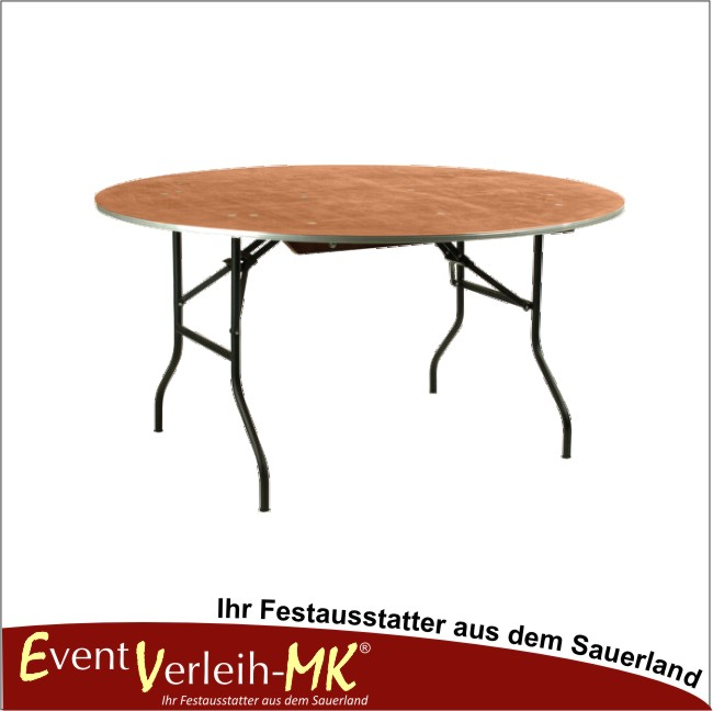 eventverleih bankett tisch rund 183er f r 10 personen. Black Bedroom Furniture Sets. Home Design Ideas