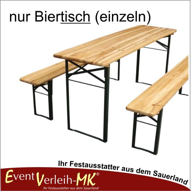 Tisch Bierzeltgarnitur.Bierzeltgarnitur Tisch Einzeln